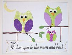 LOVE LOVE LOVE!  Baby Room Decor Kids Wall Art Baby Girl Room Decor by vtdesigns, $14.00