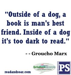 Book Quote - Groucho Marx