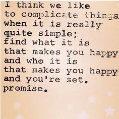 Happiness quote #carolinejordanfitness #positivethoughtspositiveresults