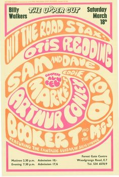 STAX ROADSHOW CONCERT POSTER