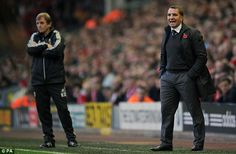 Brendan Rodgers takes over from Kenny Dalglish