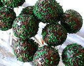 army camo cake pops