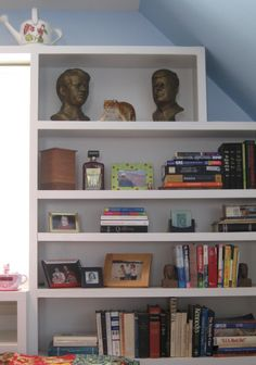 I love my bookshelves.