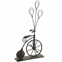 Pier 1 Bicycle Photoholder ~ I can't get over these balloons!