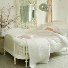 French country bedroom.