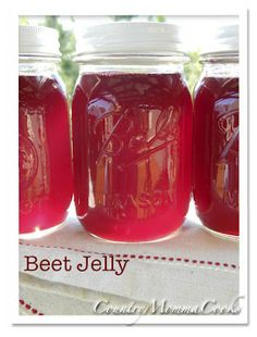 Beet Jelly Recipe.