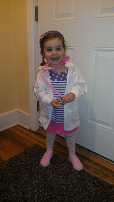 Doc McStuffins Inspired Medical Lab Coat Great for Halloween or Birthday Party Costume. $20.00, via Etsy.