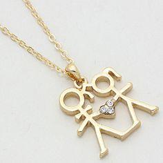Love Always Pendant in Gold