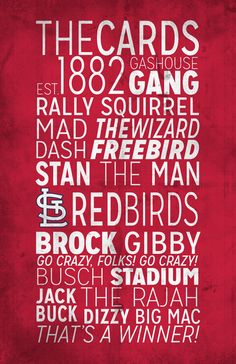 St. Louis Cardinals Poster https://www.etsy.com/listing/168893892/st-louis-cardinals-print?ref=listing-shop-header-0