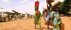 Darfur refugees Sam Ouandja, Central African Republic