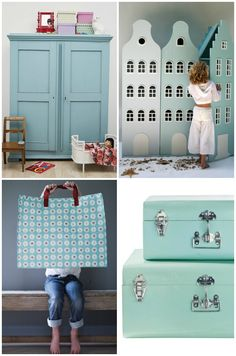 kids room play room storage ideas blue room