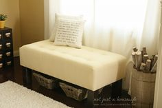 Upholstered Bench Tu