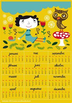 calendar 2013 - Caroline Ellerbeck #freedownload
