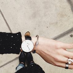 IN LOVE WITH DANIEL WELLINGTON WATCHES!