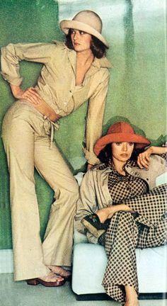 Saint Laurent Rive Gauche 1972 Vogue