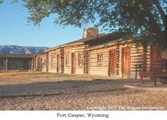Pony Express National Historic Trail stop in Caspar, Wyoming