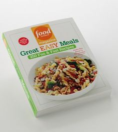 """Food Network Magazine """"Great Easy Meals"""" Cookbook"""