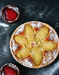 Tarte bourdaloue, cr