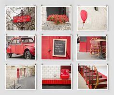 Red theme photog
