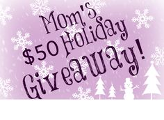 The Holidays can best stressful. Win and choose from luxurious Spa and Fragrance gifts to calm Mom's frazzled nerves!