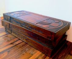 Wooden VHS Coffee Table Is A Retro Dreamer's Ultimate Fix