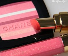 Chanel lip gloss is a fav!