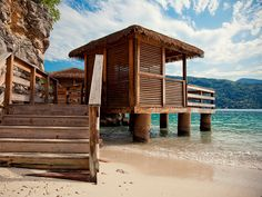 Your home base for the day. #labadee