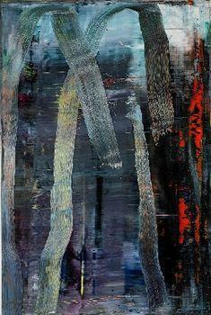 gerhart richter, art inspir, abstract paint, abstract art, 2005, wald, gerhard richter, forest, paintings