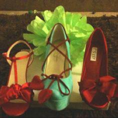 Ladies love their shoes!!