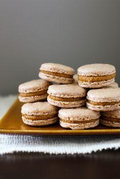 pumpkin pie macarons by annieseats, via Flickr