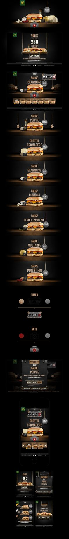 Mc Donald's Best 280 vote on Behance by The APK