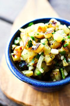 Grilled Pineappple Relish
