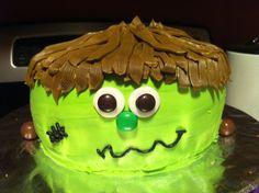 Frankenstein Cake!!