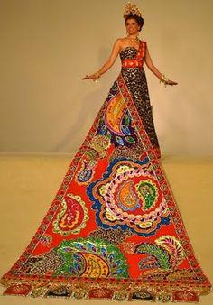 coronation gown, Fiesta San Antonio