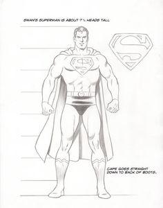 Curt Swan draws Superman.