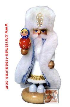 Steinbach Mini Nutcracker Russian Santa Nutcracker