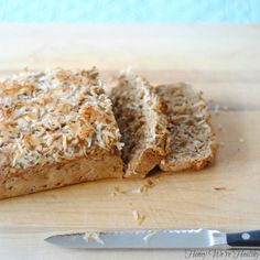 Honey Were Healthy: Healthy Banana Bread--egg free!