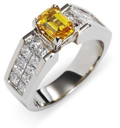 LITERALLY.....  An Infinity Diamond is Made of   YOU OR YOUR SPOUSE   FROM A SIMPLE LOCK OF HAIR!    Totally Amazing!! LOVE IT~!