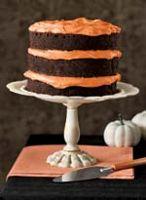 Chocolate Pumpkin Cake and Cupcakes Recipe - Country Living