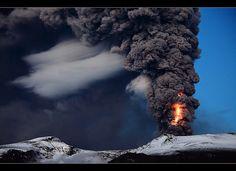 Shocked - Eyjafjallajökull Eruption by orvaratli, via Flickr
