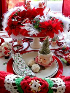 Christmas table setting | Flickr - Photo Sharing!