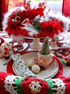 Christmas table setting | Flickr - Photo Sharing!