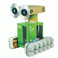 robots, idea, toy, boxes, craft kits, egg cartons, christmas packaging, paper cups, kid
