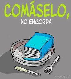 Los libros no engordan! #in