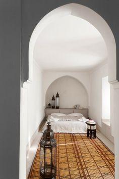 .Chic Moroccan bedroom, bedouin style. #tribalchic