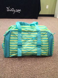Thirty one deluxe pro duffel bag.
