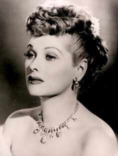 Lucille Ball was once voted the most stylish woman in Hollywood. She was a total nutball and I miss her comedy but did you know how glamorous she was?