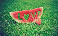 Watermelon Love - How cute!