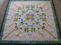 love quilts with 'chains'.