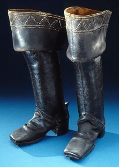 DATING 1680 century OTHER KEYWORDS boot COLLECTION OF THE Royal Armoury INVENTORY NUMBER 27134 (16:300: b)